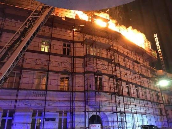 In Wien kam es zu einem Feuerwehreinsatz.