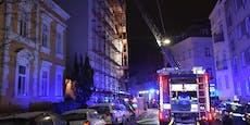Alarmstufe 2 bei Gasflaschen-Explosion in Wien