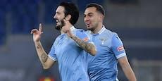 3:0! Lazio fertigt die Roma im Stadtderby ab