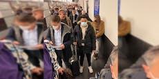 Trotz Corona-Mutation: Menschenmassen am Flughafen Wien