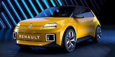 Der legendäre Renault 5 kehrt als Elektroauto zurück