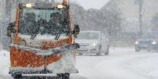 Mädchen (11) beim Iglubauen von Schneepflug verschüttet
