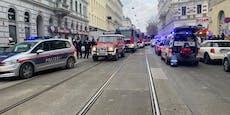Großer Einsatz in Wien - Decke in Wohnhaus eingestürzt