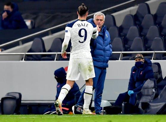 Jose Mourinho spottet über Gareth Bale.