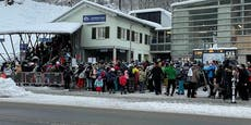 Riesenansturm auf Skigebiete auch bei Nachbarn