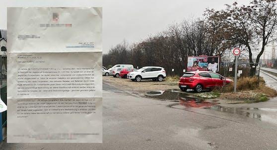 Weil ein Wiener hier sein Auto wendete, gab es eine Besitzstörungsklage.