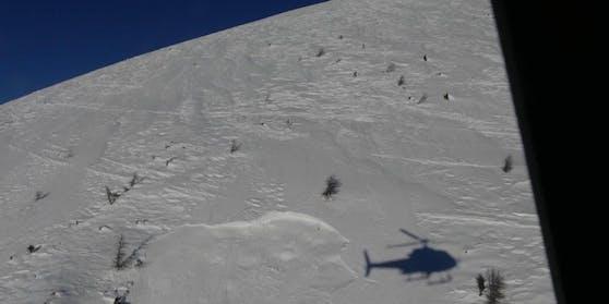 In Oberwöllan ging am Samstag (16.01. 2021) eine Lawine ab.