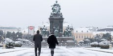 Noch mehr Schnee in Wien: Kältewelle erreicht Höhepunkt