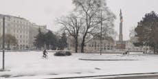 Starker Schneefall bis Wien – und das erwartet uns noch