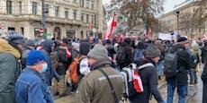 Corona-Prozession in Wiener City erzürnt nun auch Kirche