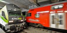 Zwei Personen in Wien-Mitte auf S-Bahn-Gleis gestoßen