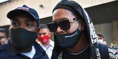 Fußball-Ikone Ronaldinho spielt in einem Rap-Video mit