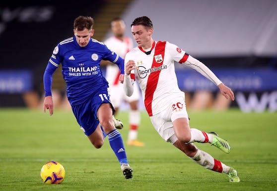 Leicester bezwingt Southampton
