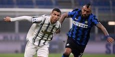 Ronaldo verliert mit Juve auch gegen Inter