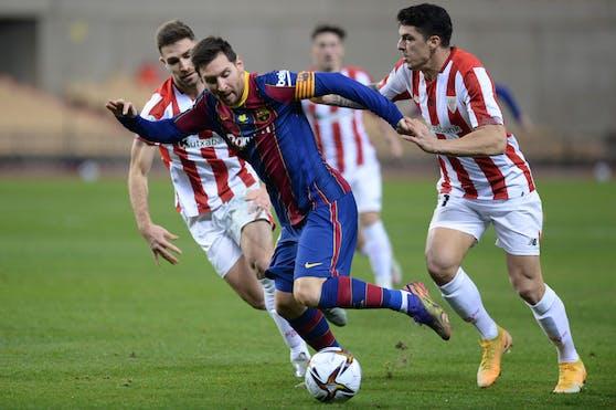 Lionel Messi fand in Bilbao seinen Supercup-Sieger.