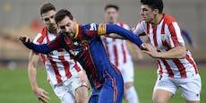 Rot für Messi! Barcelona verliert Supercup-Finale