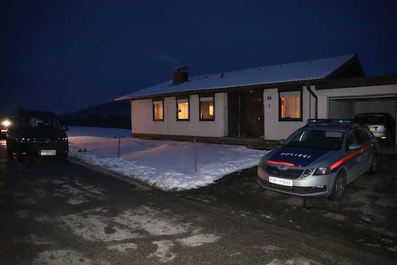 Der Tatort vom Tötungsdelikt in Aschach an der Steyr.
