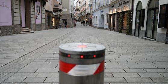 Lockdown in Österreich - hier im Bild die Getreidegasse in Salzburg (Archivfoto)