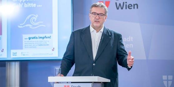 Gesundheitsstadtrat Peter Hacker