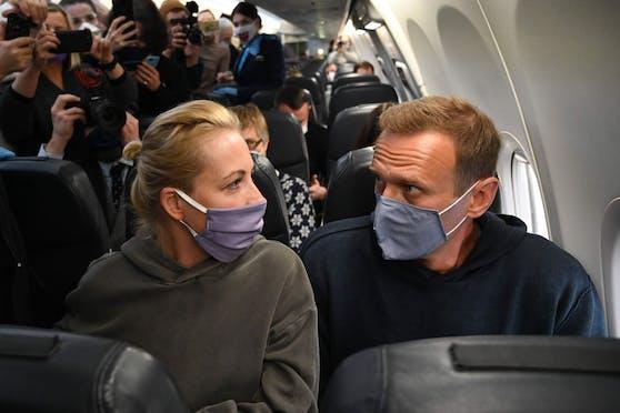 Nawalny kehrt nach Russland zurück.