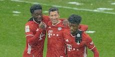 2:1! Last-Minute-Latte rettet Bayern Zittersieg