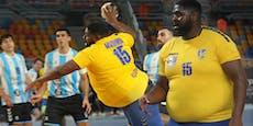 Kongo-Koloss wird zum Kultstar der Handball-WM