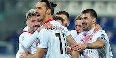 Ibrahimovic nach Verletzung schon wieder in Torlaune