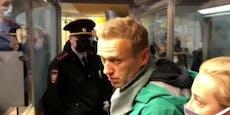 Alexei Nawalny muss 30 Tage ins Gefängnis