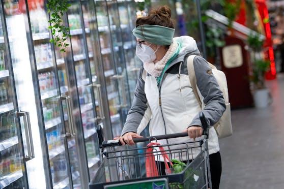 Ab 25.01.2021 sind im Lebensmittel-Einzelhandel FFP2-Masken verpflichtend.