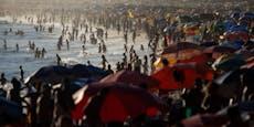 Strände voll: Bewohner in Rio pfeifen auf Corona