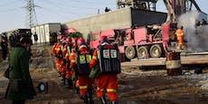 Verschüttete Bergleute schicken Nachricht an Retter