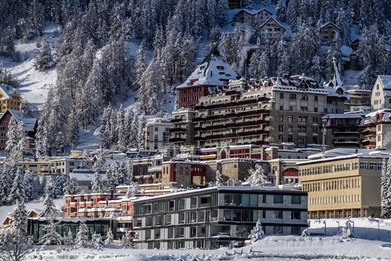 Palace Hotel in St. Moritz