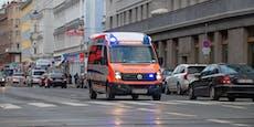 Wienerin von Lkw erfasst – Frau in Schockraum
