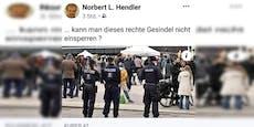 """NÖ-Bürgermeister nennt Corona-Demonstranten """"Gesindel"""""""