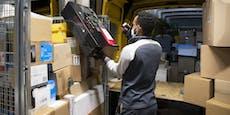 Geräusche aus Paket lassen Zustellerin Polizei rufen