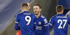 2:0! Leicester schlägt Chelsea und holt Tabellenspitze