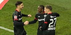 2:1! Leverkusen stoppt gegen Dortmund die Sieglos-Serie
