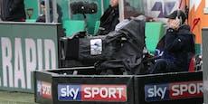 Bundesliga-Hit Rapid gegen Sturm läuft im Free-TV