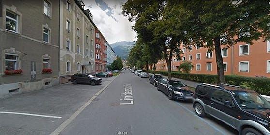 In der Innsbrucker Lindenstraße kam es zu dem Übergriff.