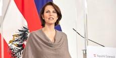 In Österreich ist Edtstadler weniger mutig