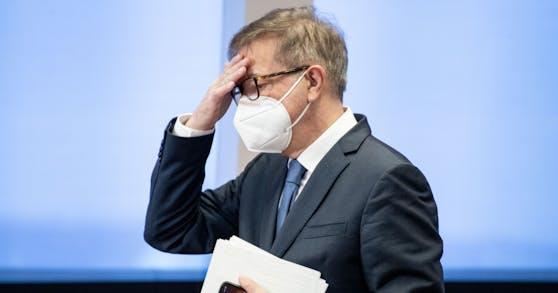 Gesundheitsminister Rudi Anschober (Grüne).