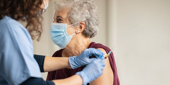 Symbolbild einer Corona-Impfung