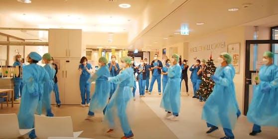 Das Tanzvideo der Mitarbeiter der Klinik Floridsdorf geht viral