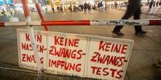 Coronakritiker und linke Demo kollidieren in Innsbruck