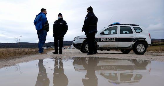 Diebosnische Polizei.