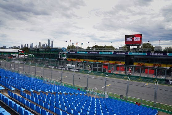 Der Albert Park in Melbourne.