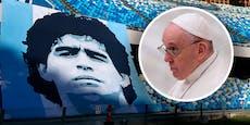 """Papst Franziskus: Maradona war ein """"schwacher Mensch"""""""