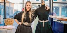 Designerin darf keinen Stoff für Kleider kaufen