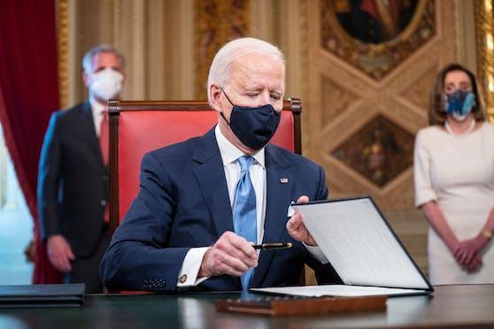 Joe Biden ist der 46. Präsident der USA.