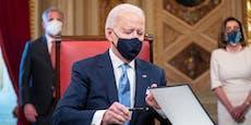 Dahin wollen Biden und seine Crew steuern